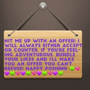 Bundle and I'll send You an Offer!